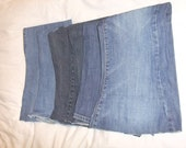 DENIM SCRAPS - Ideal for mending and patching