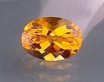 18x13 brandy oval quartz gem stone gemstone