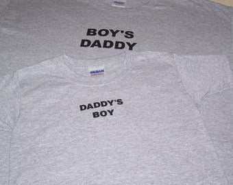 Father's Day Shirt ~  Matching  Shirts  ~ Dad Shirt~  Matching Father and Son Shirt~ Dad & Son Tshirts~ Father and Son Shirts~Boy's Clothing
