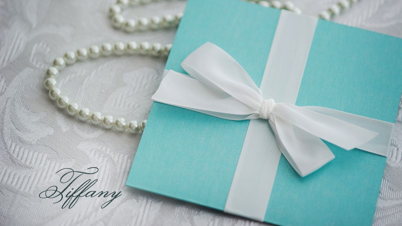 Tiffany Wedding Invitations was adorable invitation design
