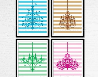 Popular items for chandelier print on Etsy