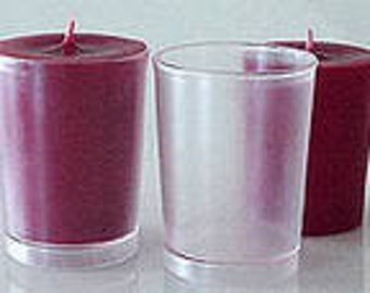2 Pack Polycarbonate Votive Candle Molds
