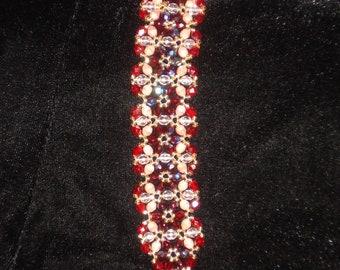 "Glass Garden Bracelet Quad 8"""