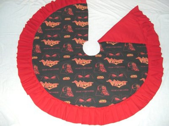 Darth Vader Christmas tree skirt (07)