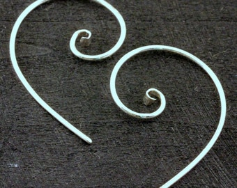 Scroll Ear Ring Simple
