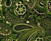 """Celtic Fabric: """"Elegance"""" Print Quilting Cotton Fat Quarter"""