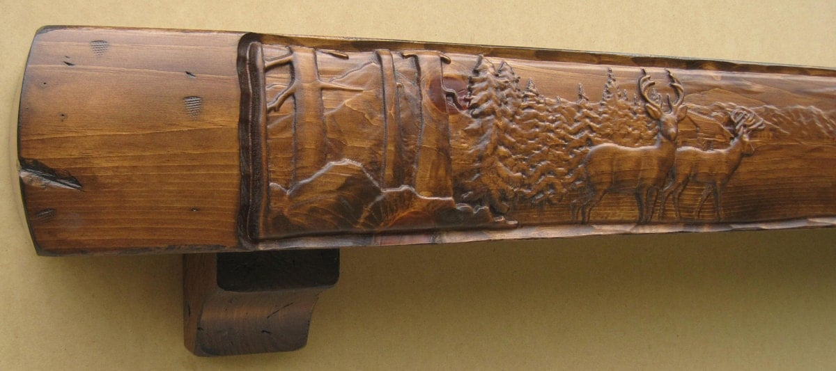 Rustic Fireplace Mantels. I Love Rustic Stone Fireplaces U003c3 ...
