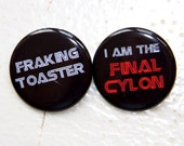 Battlestar Galactica Button Pack