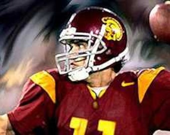 Matt Leinart USC Limited Edition Art Lithograph Rare