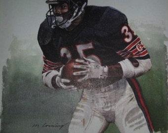 Neil Anderson Chicago Bears Rare Art