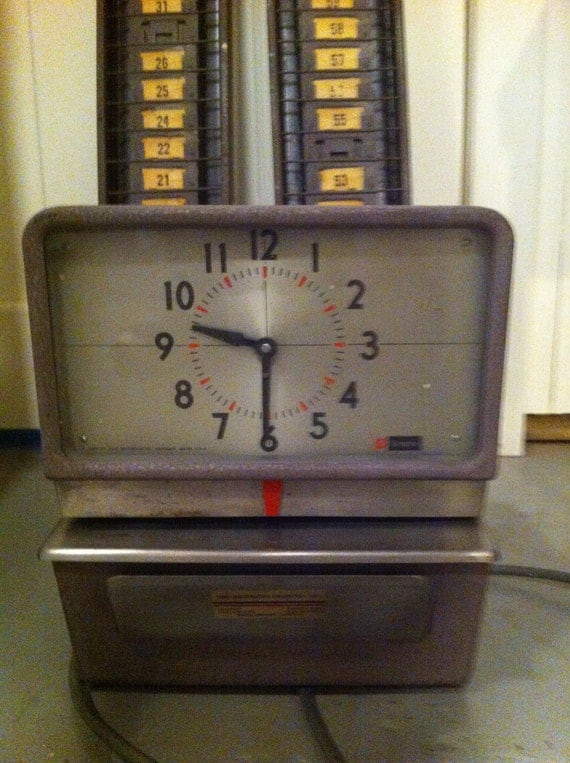 timeclock machine