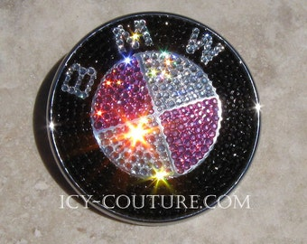 Crystal BLING BMW Emblem with Swarovski Crystals