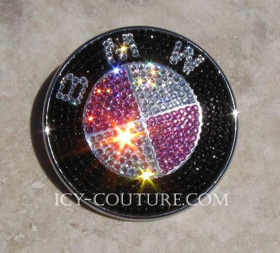 Bmw X5: Crystal BLING BMW Emblem With Swarovski Crystals