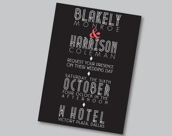 Printable Invitation - Blakely