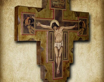 Wall Crucifix 14x16 Free Shipping