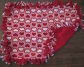 Dog or Cat Fleece tie blanket