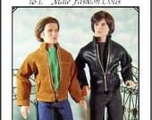 DEVIN A  Pattern Tonner Matt, Rufus, Trent. Jamieshow Male dolls 16 17 inches
