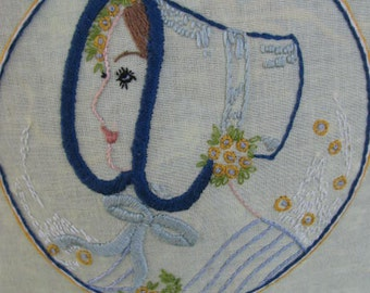 Pioneer Woman Embroidered Pillow