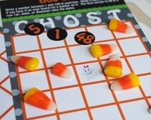 Printable Boo Halloween Bingo Game Set - Instant Download - Kids Halloween Party - Classroom Halloween Party
