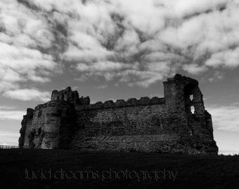 Tantallon Castle Historical Architecture Photography Art - 8 x 10 Photo Image