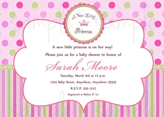 Prince Baby Shower Invitation for beautiful invitations example