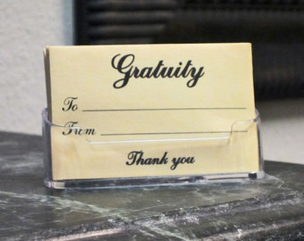 Acrylic Card Holders (for Envelopes)