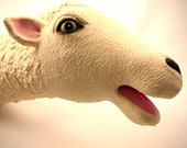 Sheep Handpuppet made from soft Latex