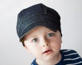 Newsboy cap boys denim hat spring hat summer hat boys clothing clothes