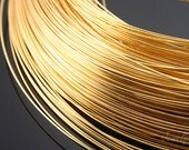E285-0.4mm  Soft Type Wire- 40M -Luster Gold Plated
