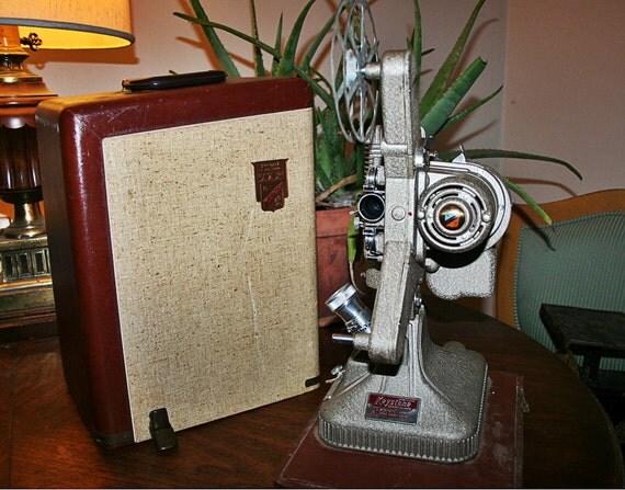 vintage 1950s keystone regal k109 8mm film projector
