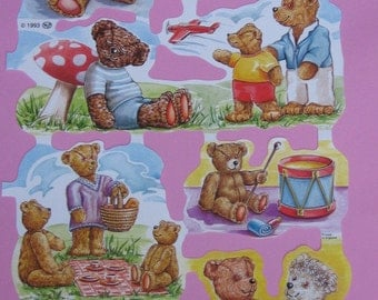 Cute bears pictures for scrapbooking