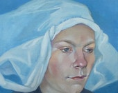 Self portrait in the Flemish style. RESERVED