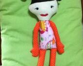 "Girl Doll 18"" OOAK"