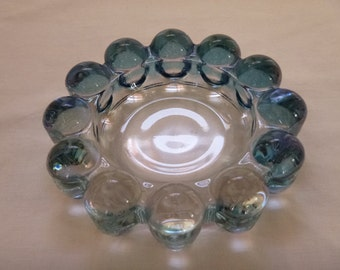 Vintage Blue Nova Boopie Style Ashtray