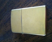 Antique Zippo Lighter Solid Brass Case 1932-1989 SPECIAL EDITION
