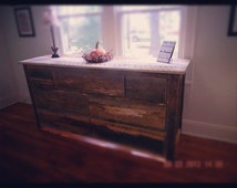 Check out our reduced prices! Rustic Barnwood/reclaimed lumber dresser