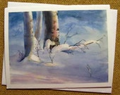 Winter Light, a four card matching set
