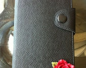 Galaxy Note2 II /N7100 Leather Case with Rose