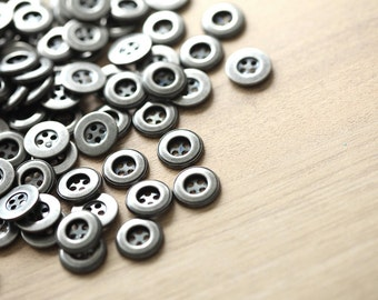 20 pcs of metal (iron) buttons , 13mm