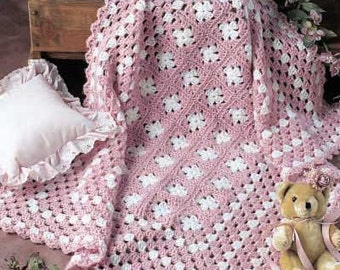 Simply Simple Soft Baby Afghan, You choose color scheme
