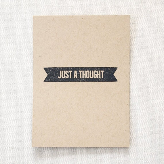 Just A Thought - Rubber Stamps for Project Life