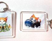 Feline Fantasy Hissidia Kitty Keychains