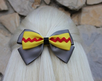 flying elephant hair bow