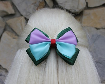 the little mermaid hair bow