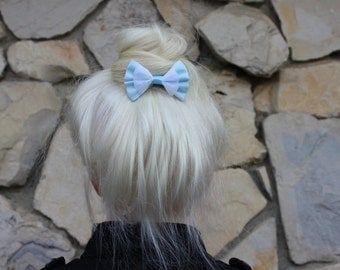 cinderella mini hair bow