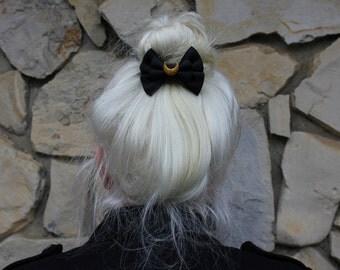 luna mini hair bow