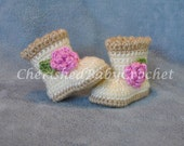 Sugar and Spice Boots for Babies