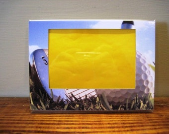 Golf Iron Picture Frame