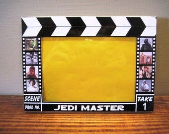 Jedi Master - Hollywood Clapboard Picture Frame