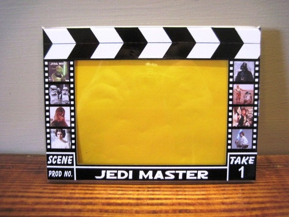 Jedi Master Hollywood Clapboard Picture Frame by ...